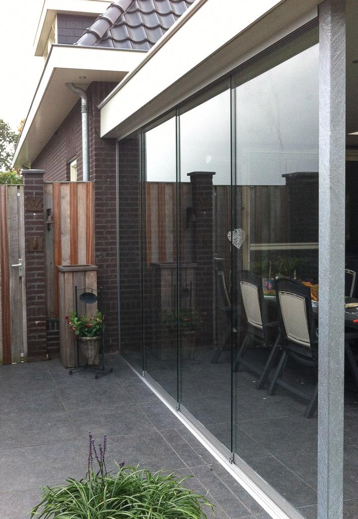 Schuifwand Sunflex SF20 terrasoverkapping De Rips